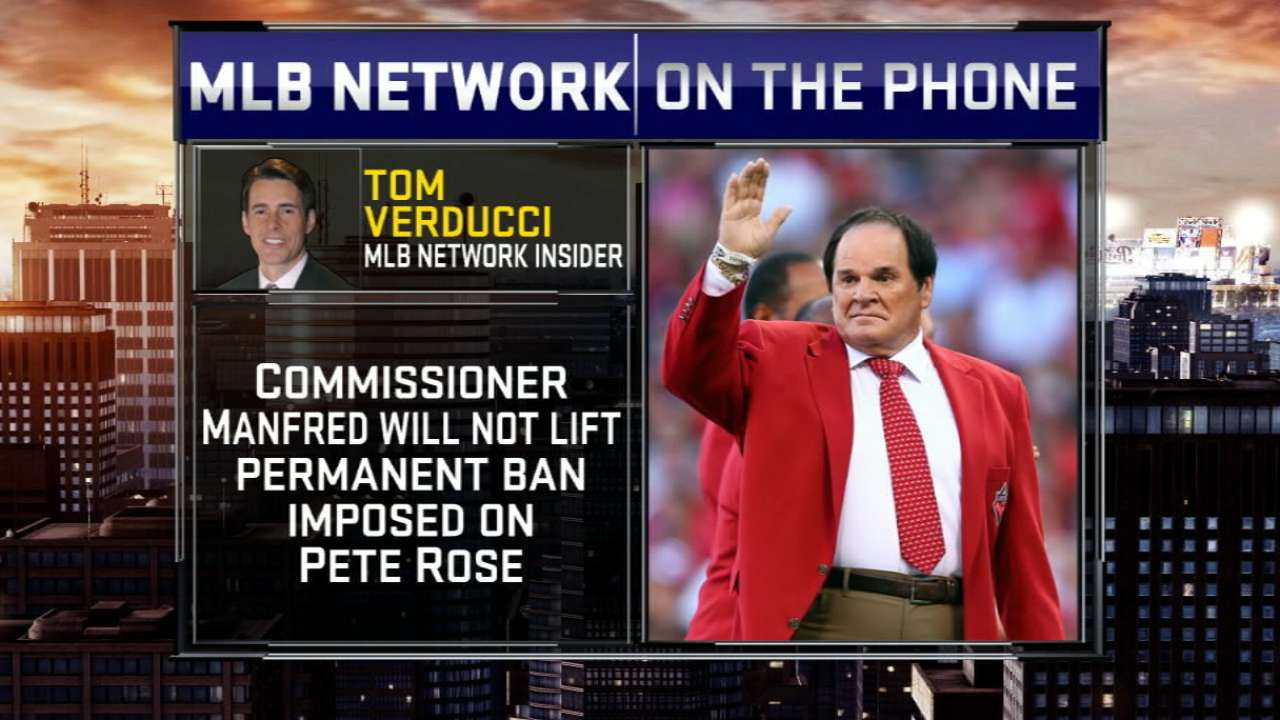 Verducci on Rose's ban