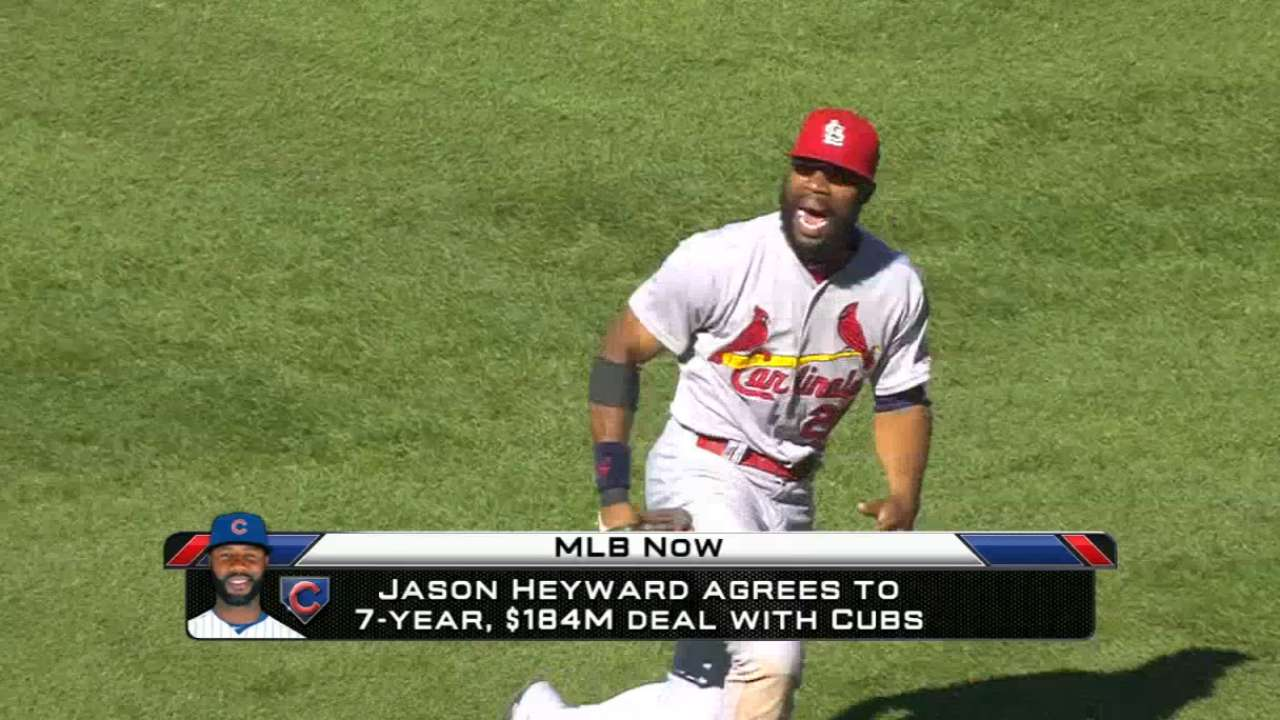 MLB Now analyzes Heyward