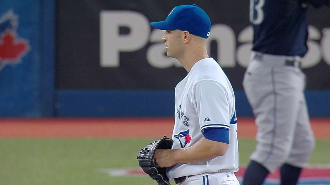 Happ highlights Blue Jays' newcomers in 2016