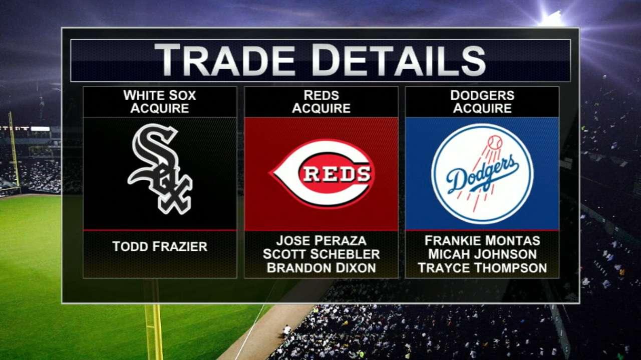White Sox acquire Frazier