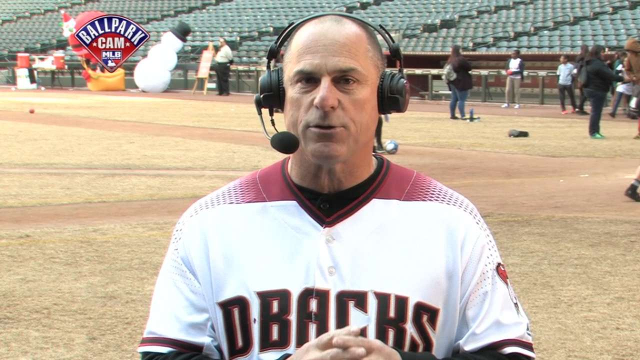 Williams happy to be back 'home' with D-backs