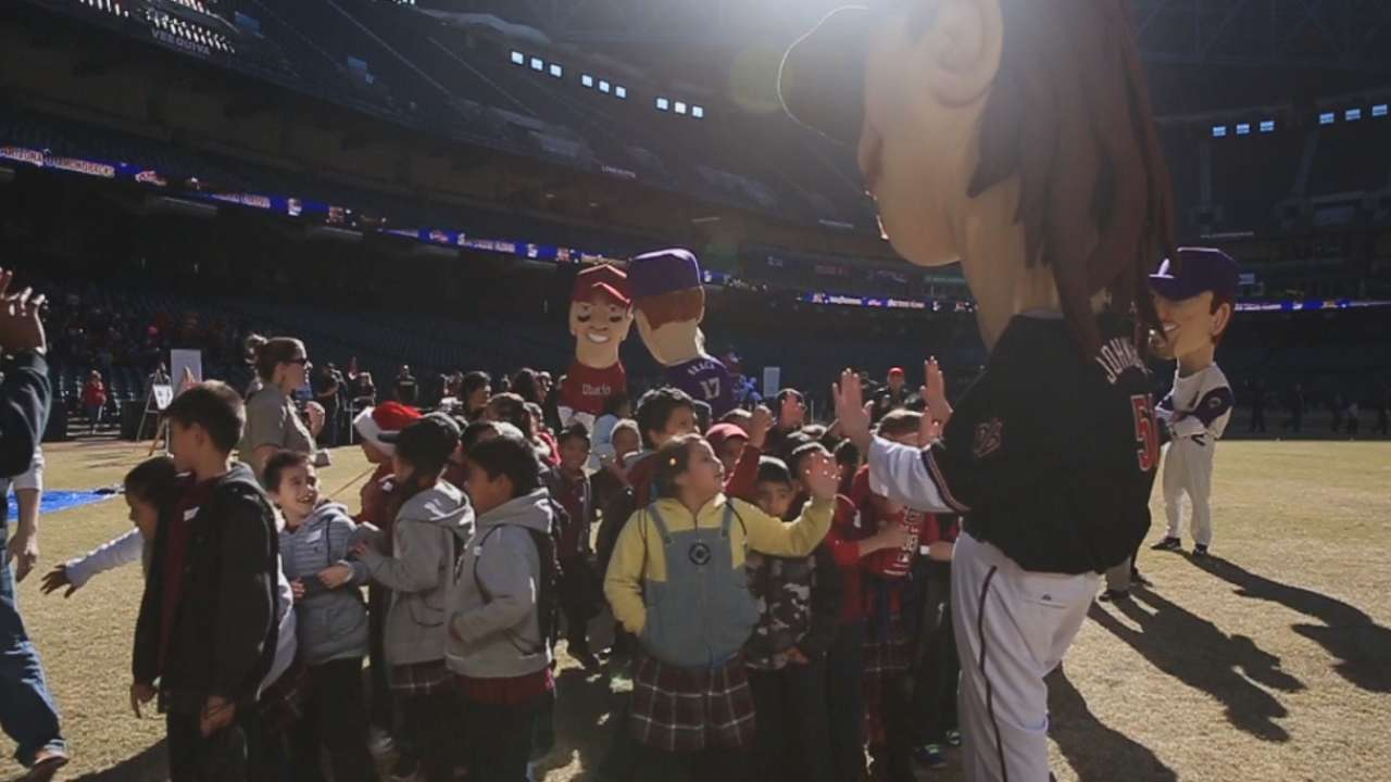D-backs host annual holiday party