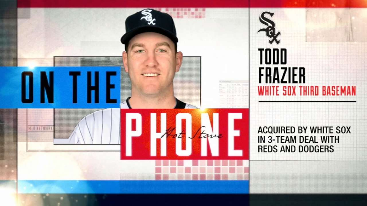 Frazier phones in to Hot Stove