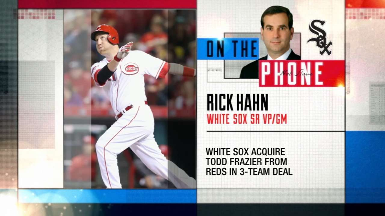 Hahn breaks down Frazier trade