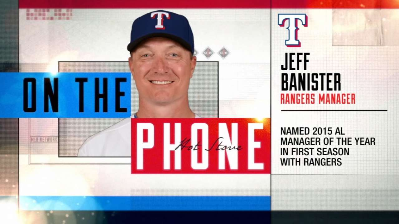 Rangers looking to repeat division title in 2016