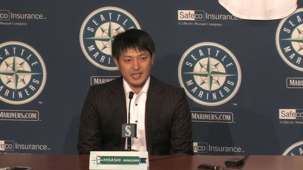 Iwakuma feels Seattle is right place for him