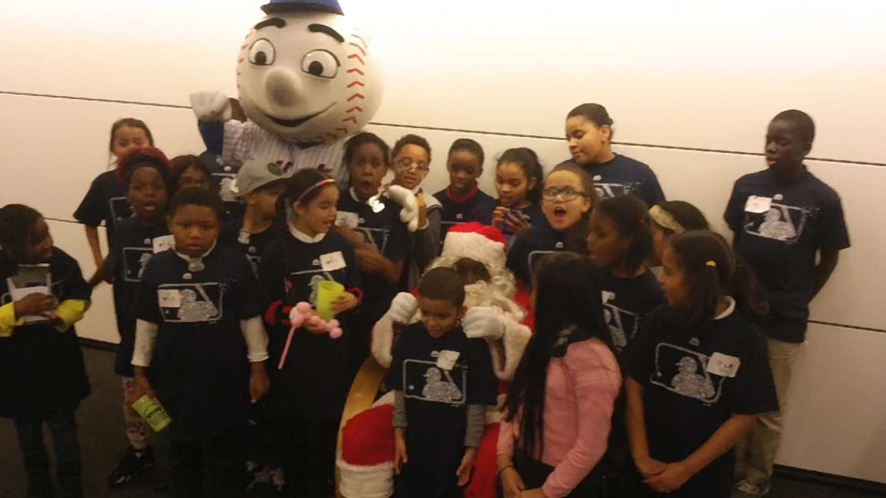 MLB security boss plays Santa for needy kids