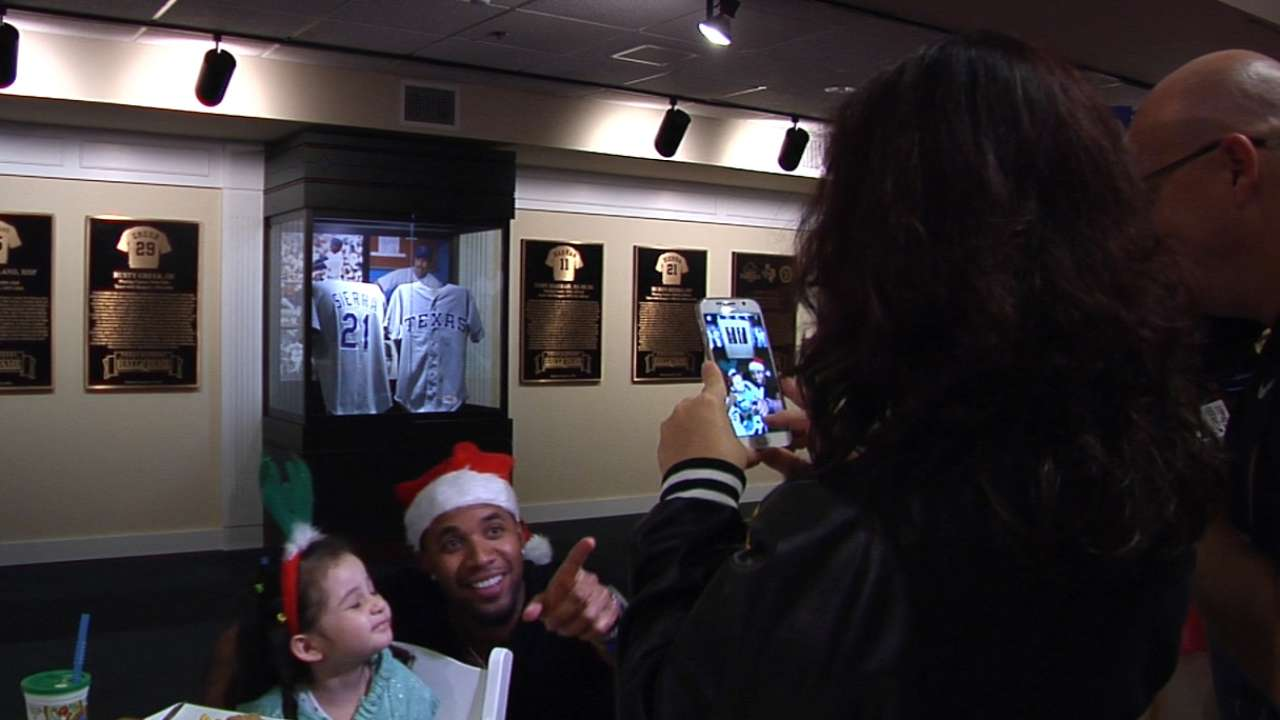 Andrus hosts Holiday Party