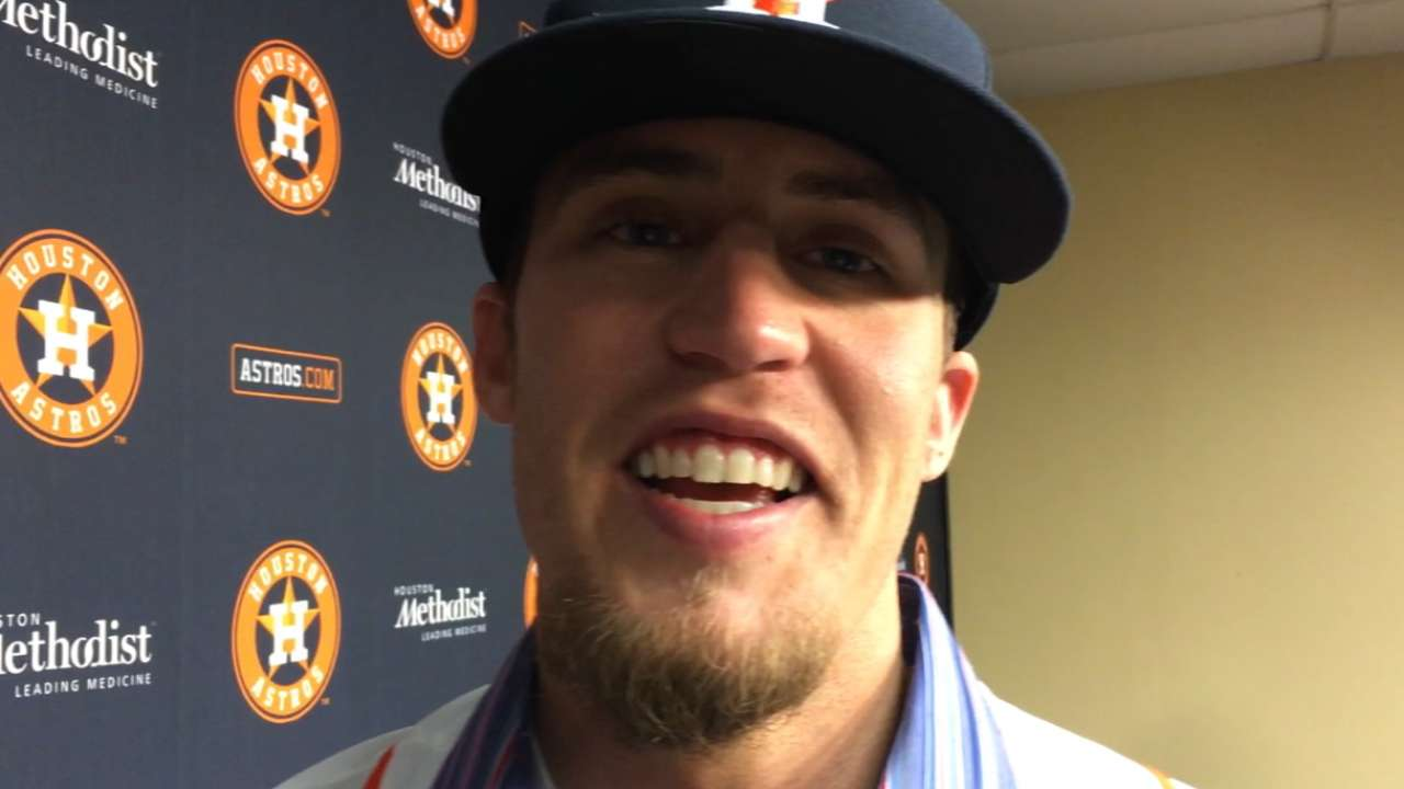 Holidays all about family for Astros' Giles