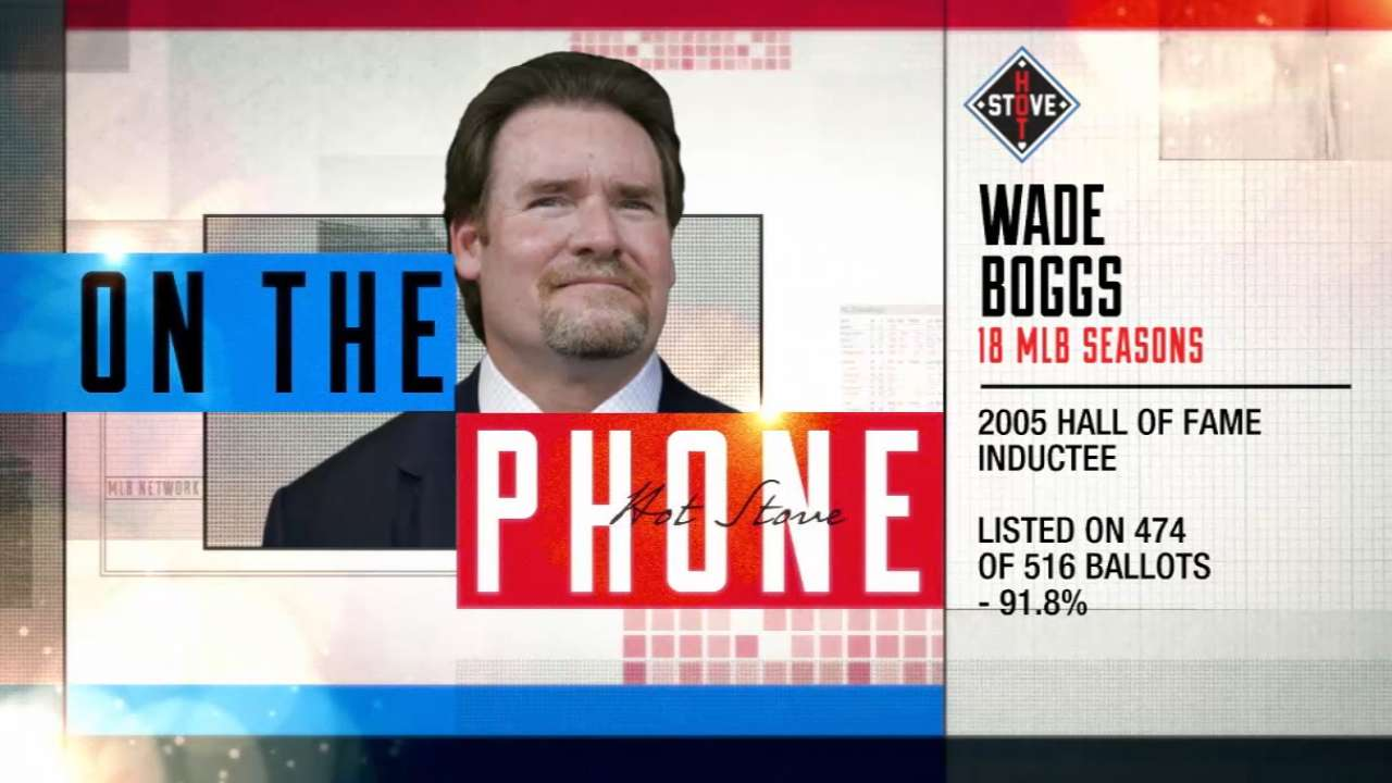 Boggs phones in to Hot Stove