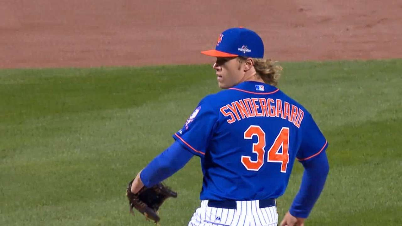 MLB Now: Mets pitching