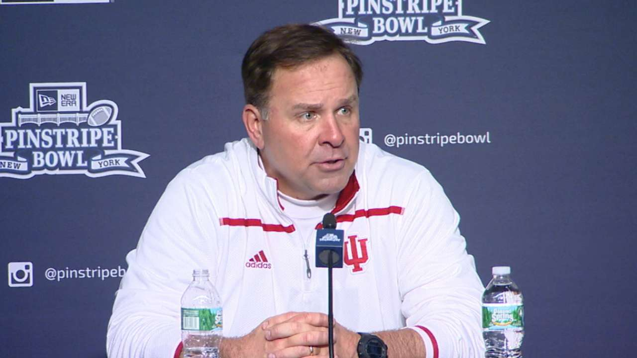Kevin Wilson on Indiana's loss