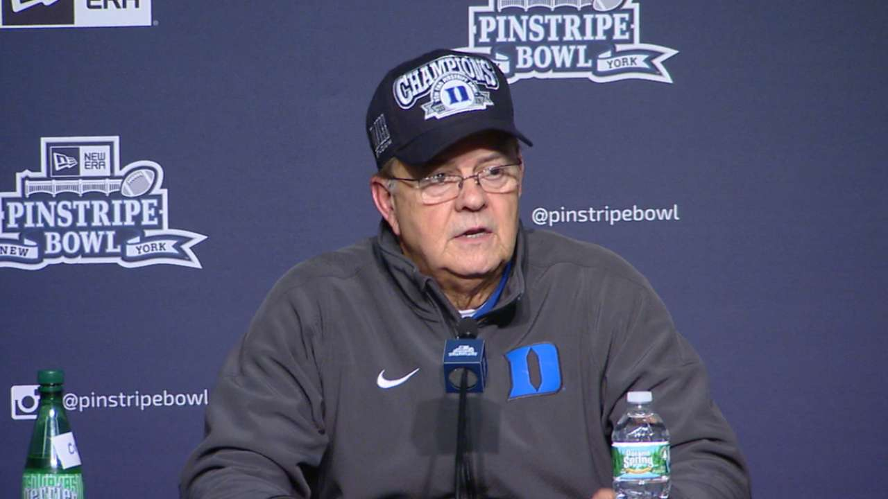 David Cutcliffe on Duke's win