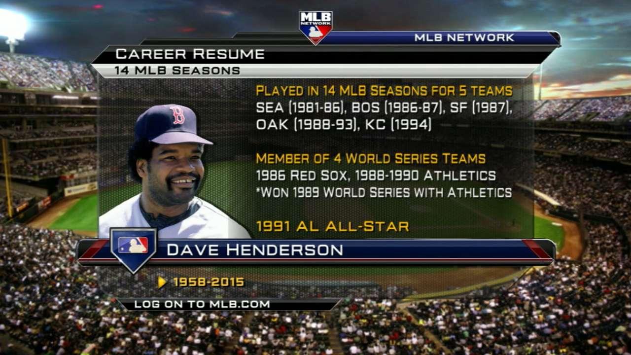 Dave Henderson passes away