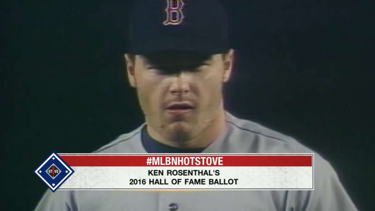 Rosenthal talks about his ballot