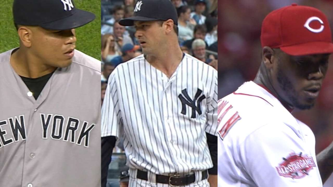 Yanks finding it tough to add starting pitching