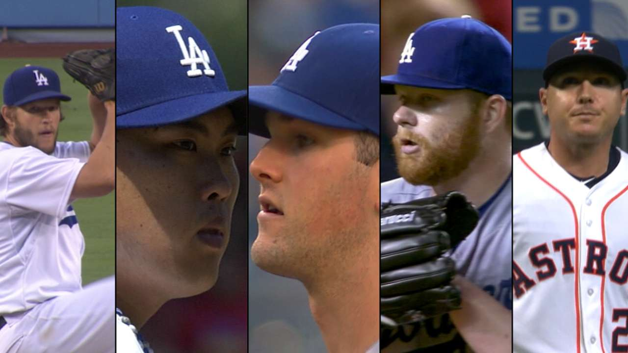 Numbers show all-lefty rotation could work