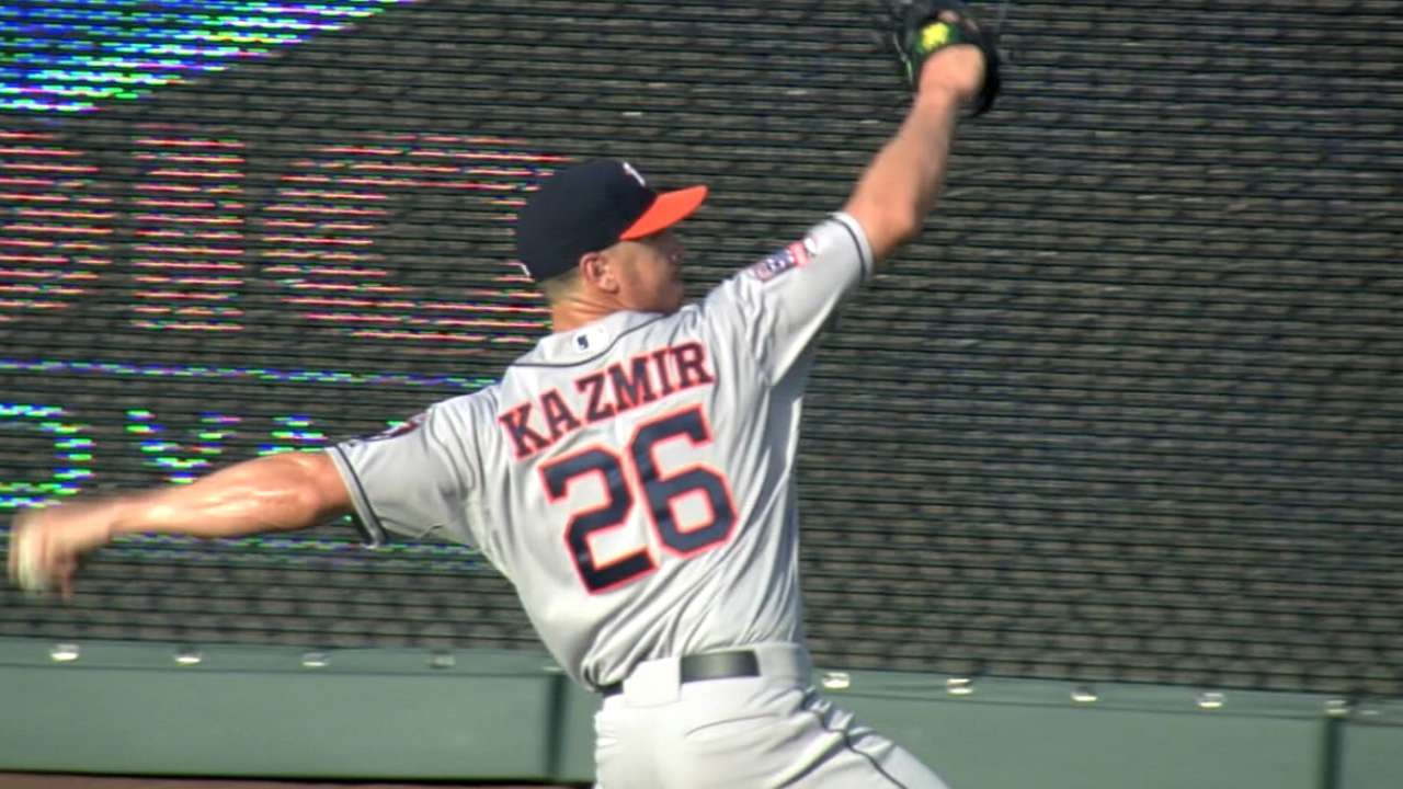 On the rise, Kazmir excited for NL challenge