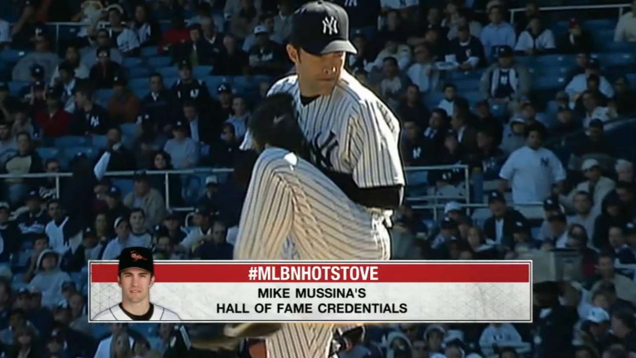 By the numbers: HOF case for Mussina