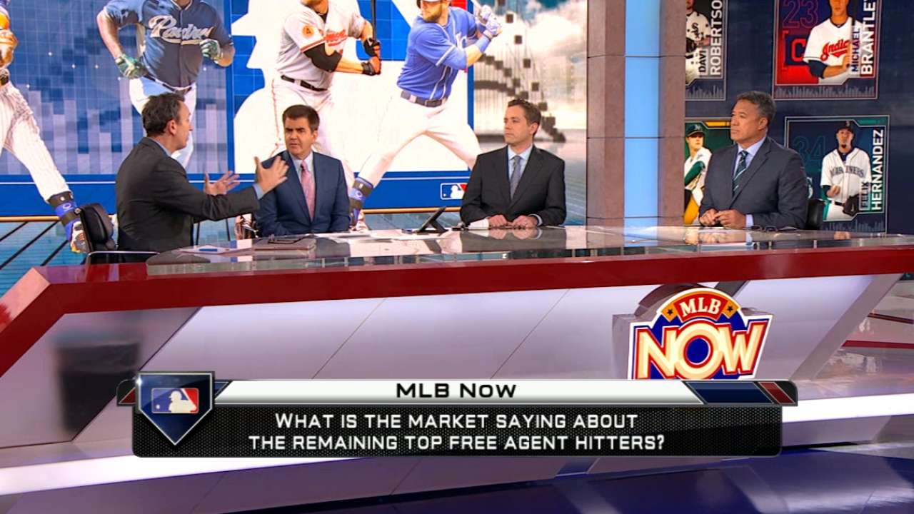 MLB Now on free-agent hitters