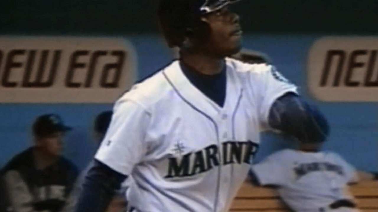 Griffey looks spiffy; percentage junior to none?
