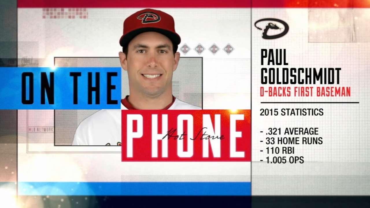 Paul Goldschmidt joins Hot Stove