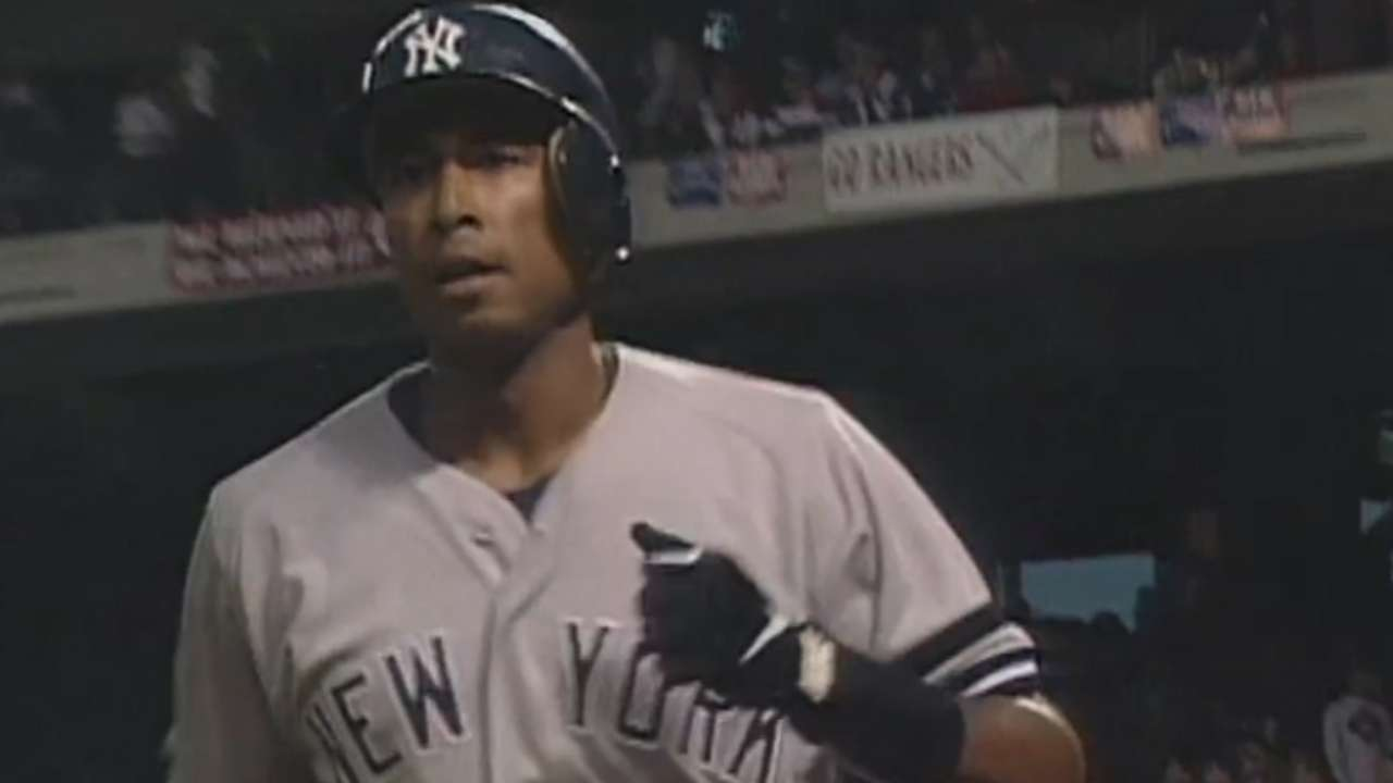 Williams first-inning home run