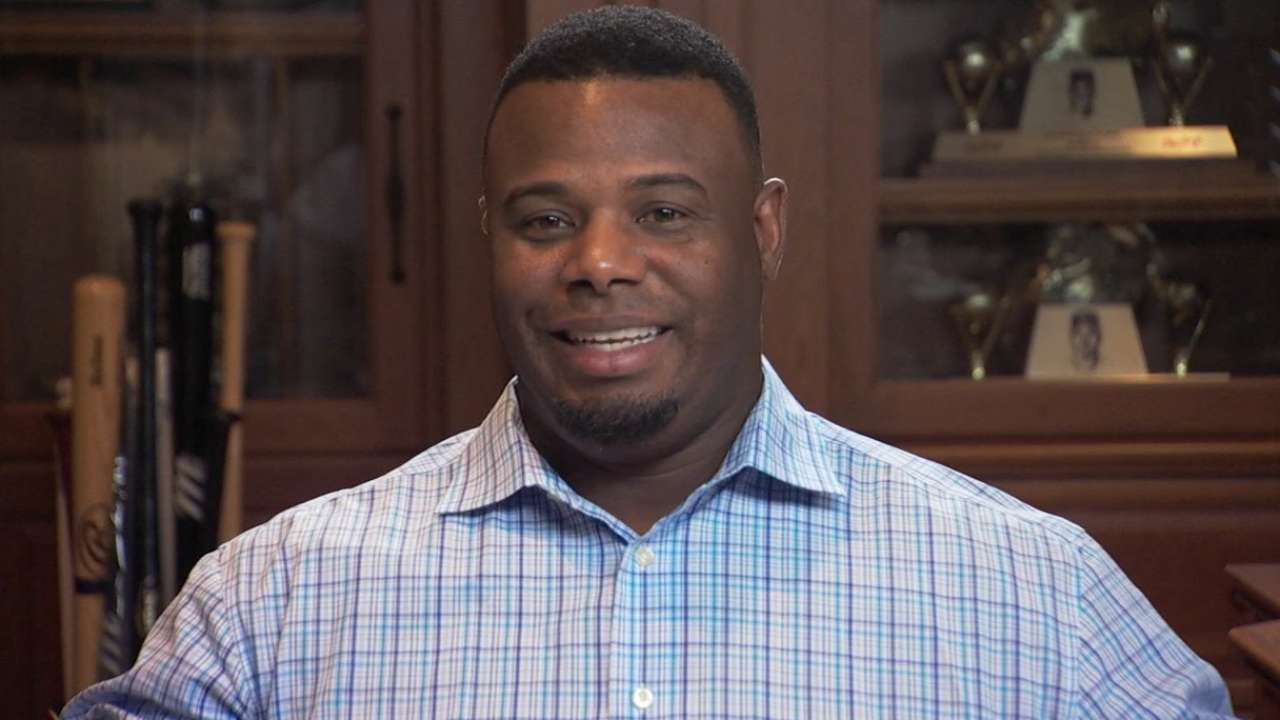 Griffey Jr. on joining the HOF