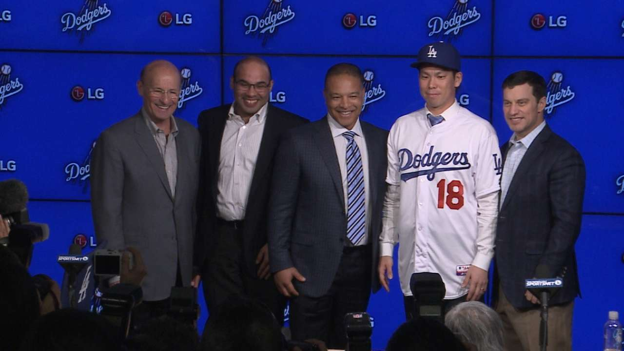 Maeda introduced in Los Angeles