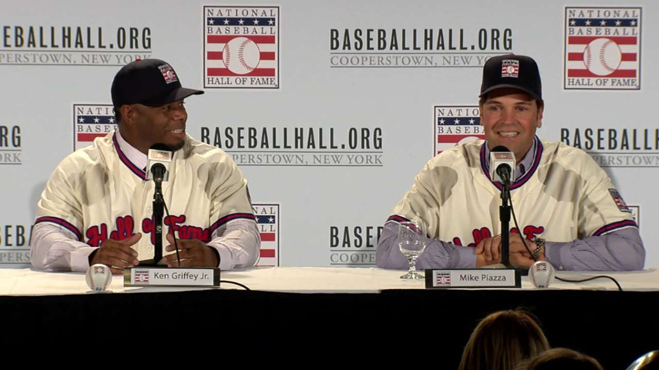 Griffey, Piazza latest to go from Draft to Cooperstown
