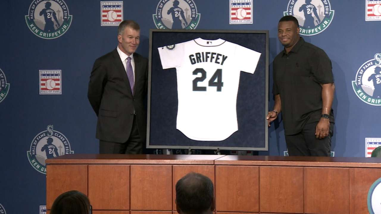 Mariners to retire Griffey's No. 24