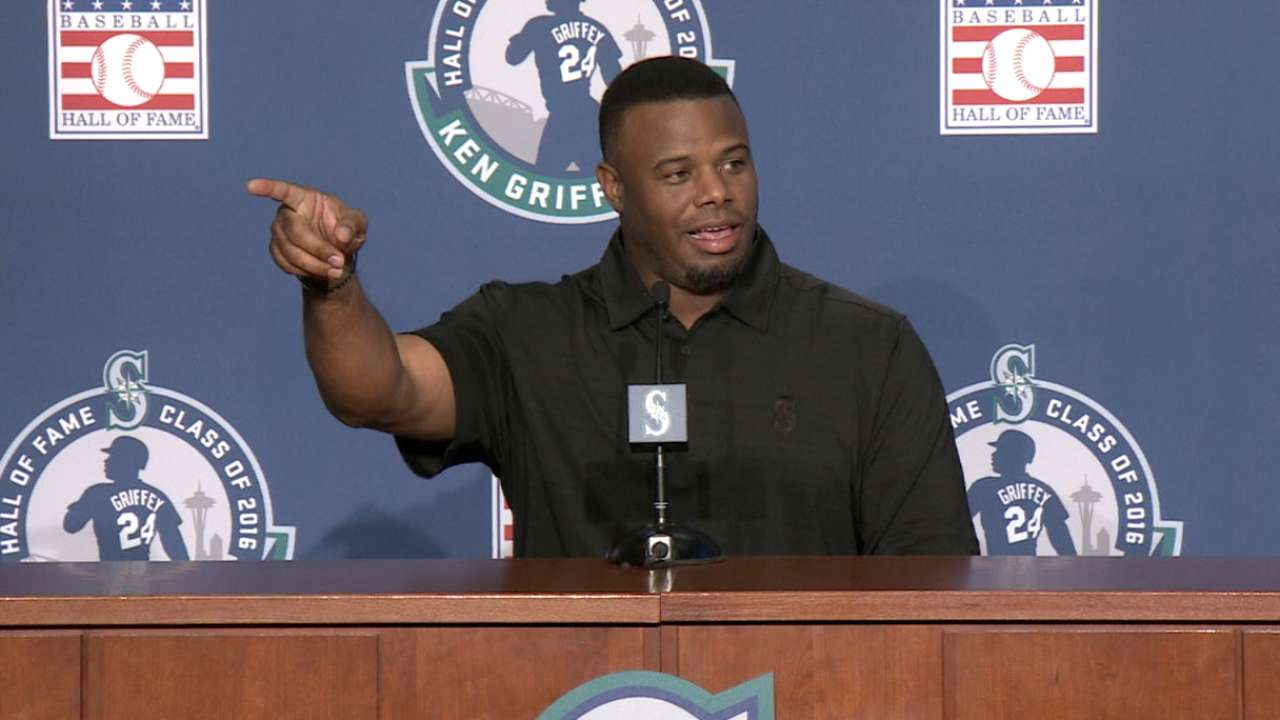 Griffey Jr. lists superstitions