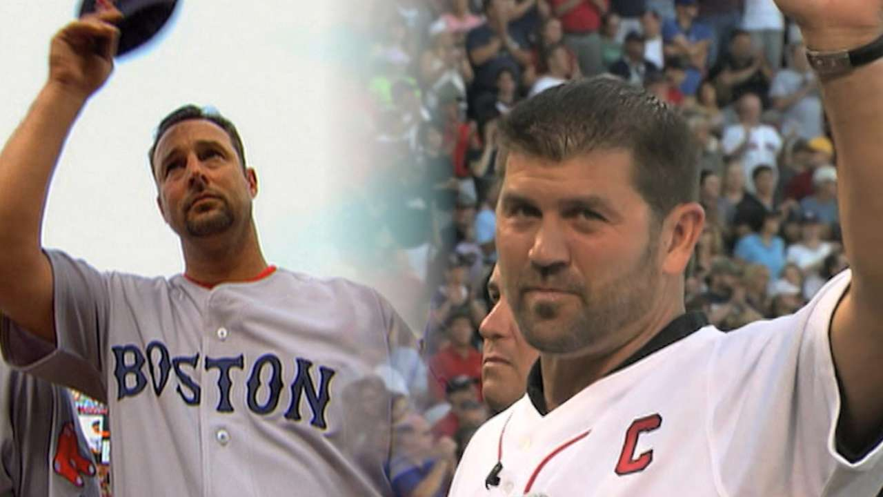 Tek, Wakefield to enter Red Sox Hall of Fame