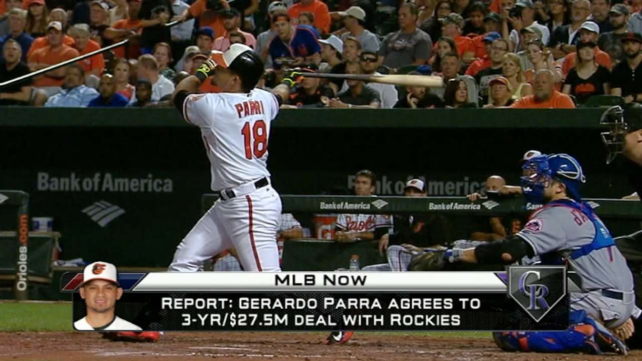 MLB Now on Gerardo Parra signing