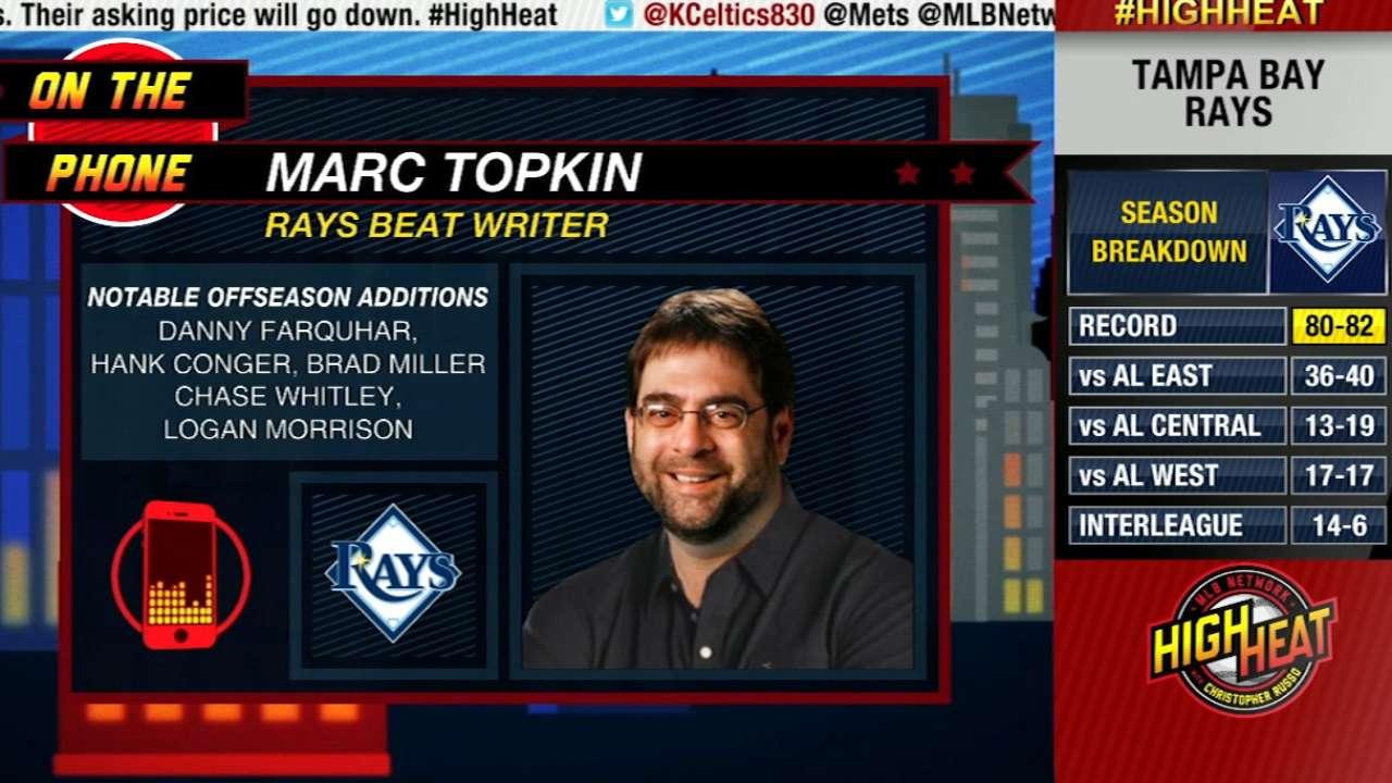 Topkin talks Rays on High Heat
