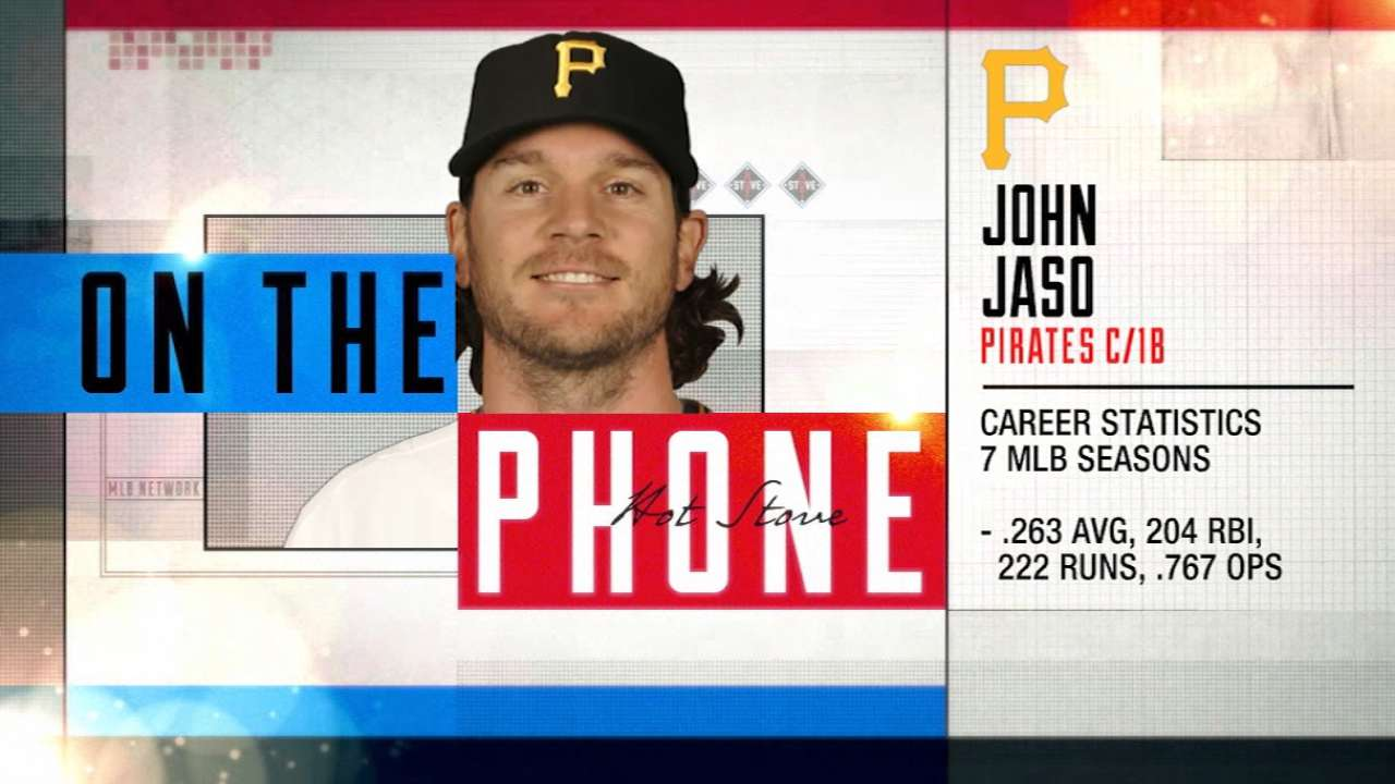 Jaso joins Hot Stove