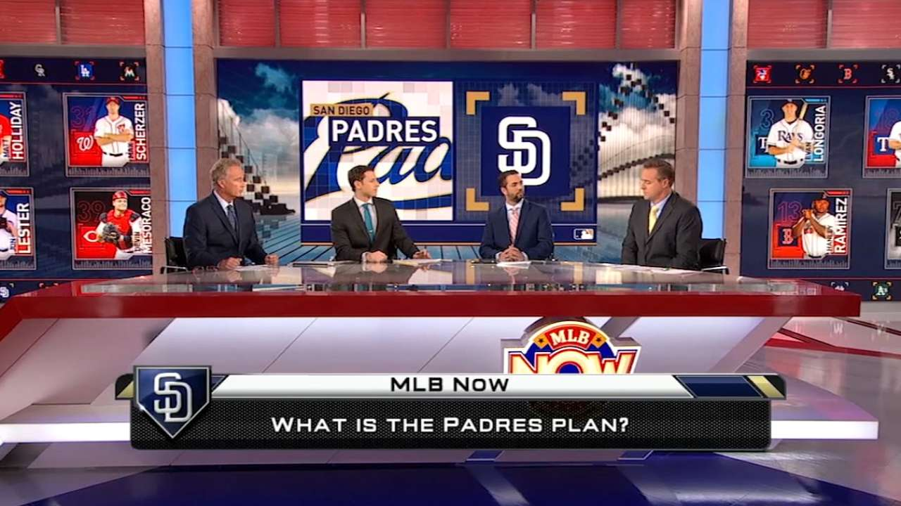 Solidifying short would be big for Padres' chances
