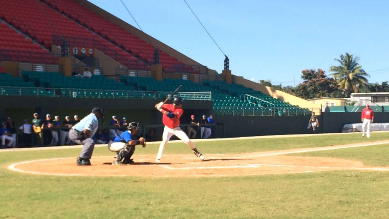 MLB working to cultivate talent in Puerto Rico