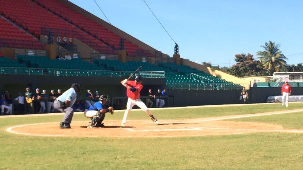 MLB showcase in Puerto Rico