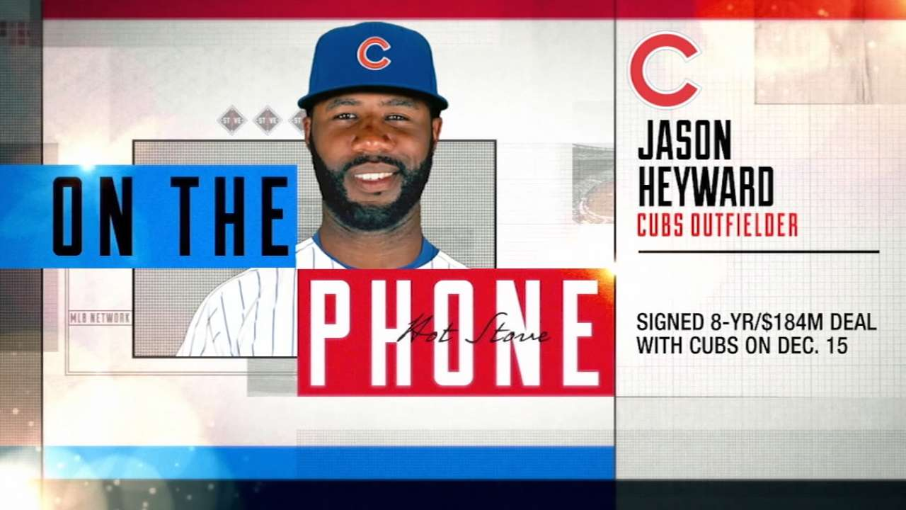Heyward getting ready for 2016