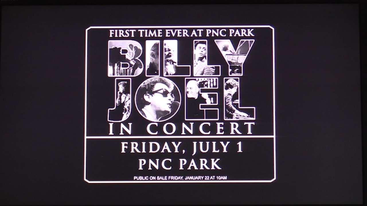 Joel announces summer concert at PNC Park