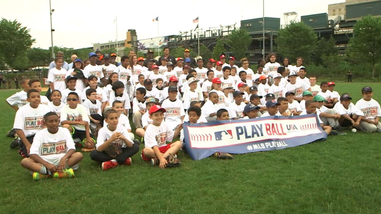 MLB launches Play Ball