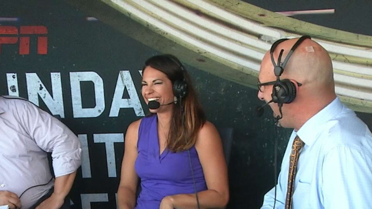 Jessica Mendoza on ESPN job