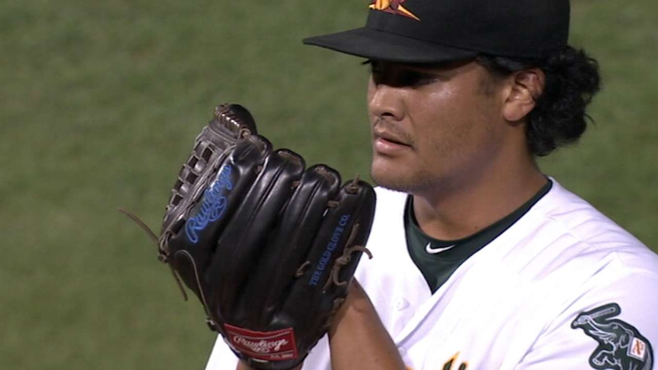 Top Prospects: Manaea, OAK