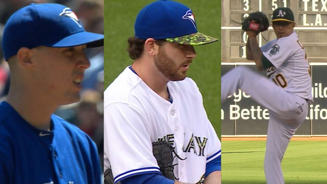 Blue Jays' pitching depth