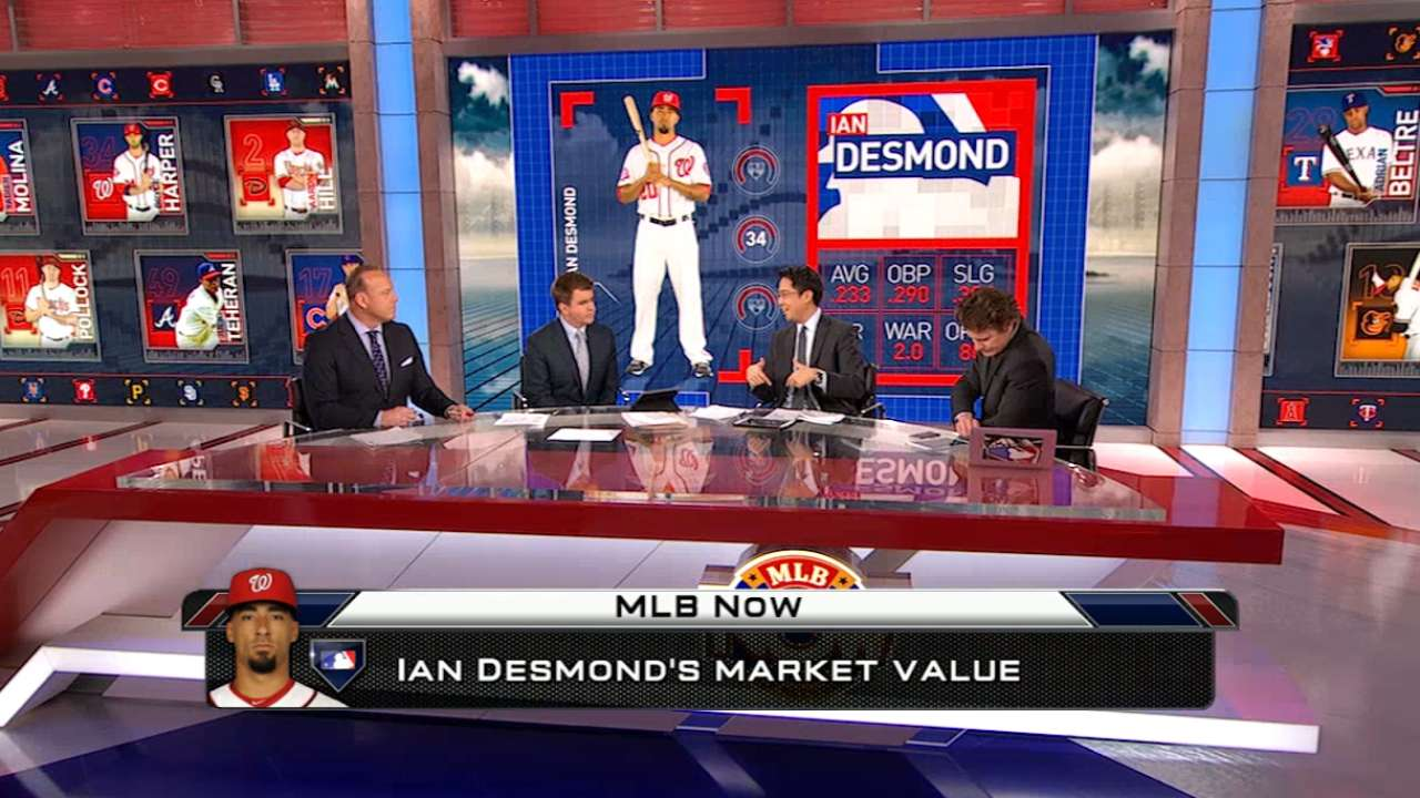 MLB Now: Desmond's market value