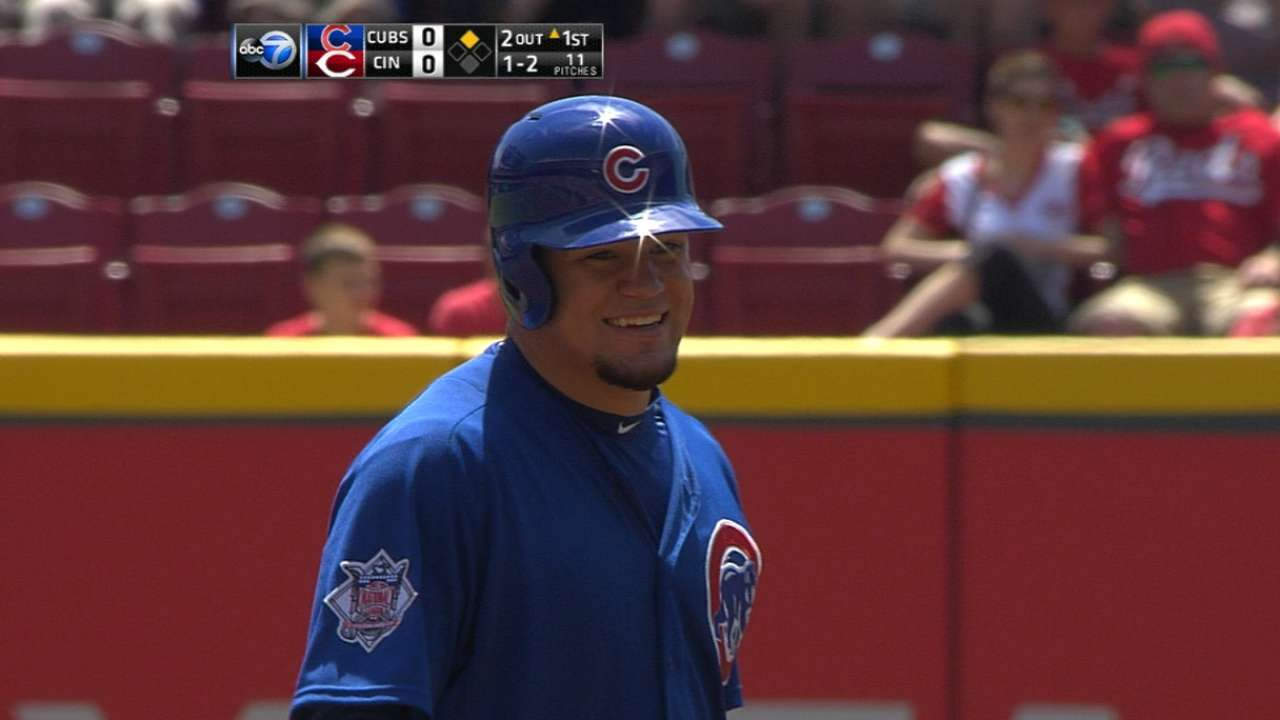 Coaches battle over Schwarber