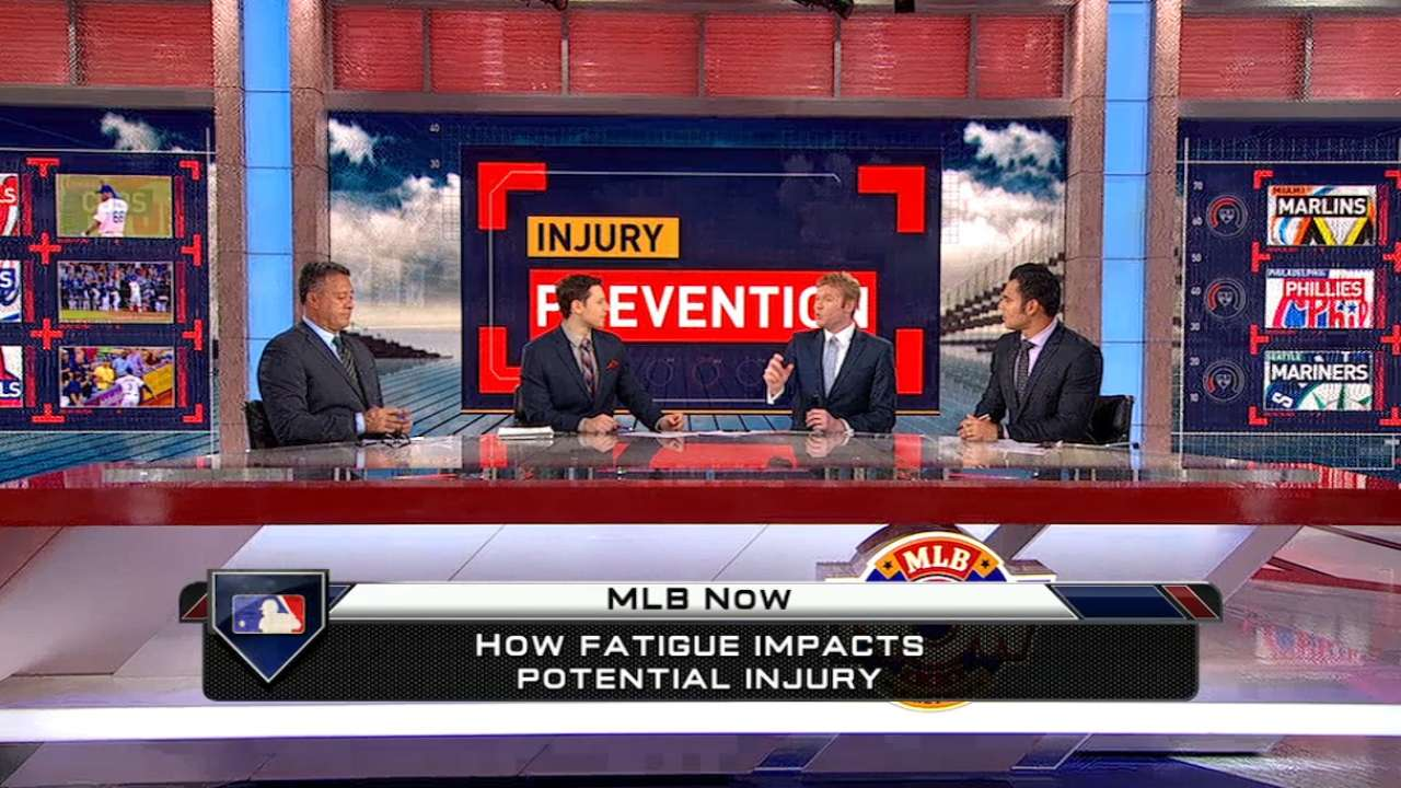 MLB Now on pitchers' injuries