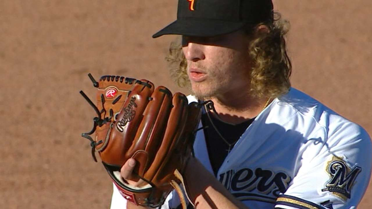 Hader to represent Brewers at Futures Game