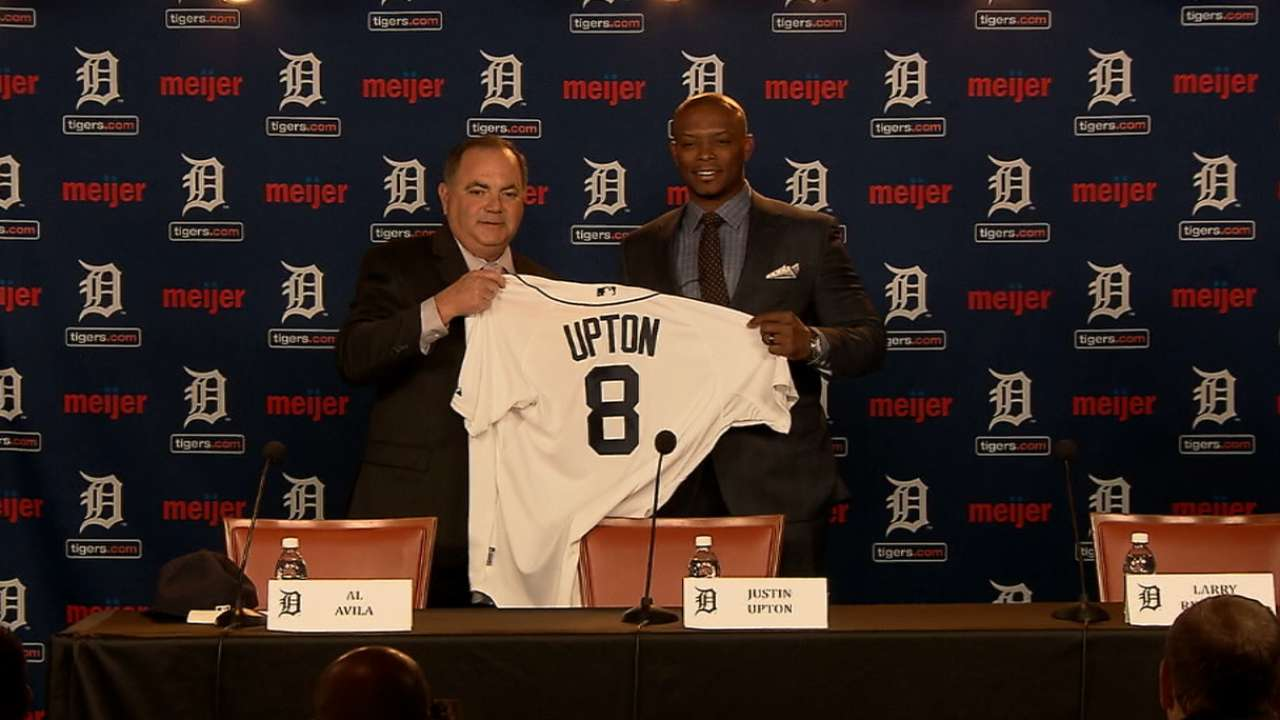 'Plan A' works out: Tigers welcome Upton